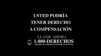 1-800-DERECHOS TV Spot, 'Taxotere' [Spanish] - Thumbnail 9