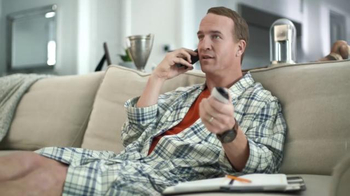 DIRECTV NFL Sunday Ticket TV Spot, 'Peyton on Sunday Mornings: Phone Call' - 4827 commercial airings
