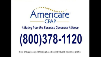 Americare Respiratory Services TV Spot, 'Sleep Apnea Sufferers' - Thumbnail 6