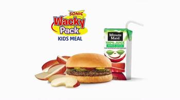 Sonic Drive-In Wacky Pack Kids Meal TV Spot, 'SpongeBob's Wipeout' - Thumbnail 5