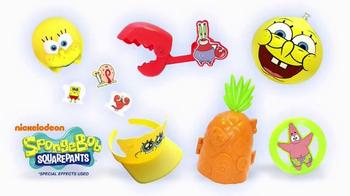 Sonic Drive-In Wacky Pack Kids Meal TV Spot, 'SpongeBob's Wipeout' - Thumbnail 6