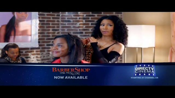 DIRECTV Cinema TV Spot, 'Barbershop: The Next Cut'