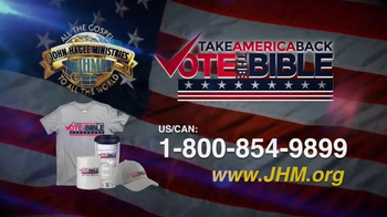John Hagee Ministries TV Spot, 'Vote the Bible' - Thumbnail 7