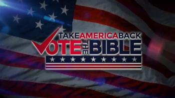 John Hagee Ministries TV Spot, 'Vote the Bible' - Thumbnail 3