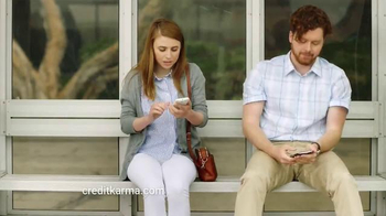 Credit Karma TV Spot, 'Bus Stop'