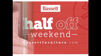 Bassett Half Off Weekend TV Spot, 'Two More Days: Beds and Seating' - Thumbnail 3