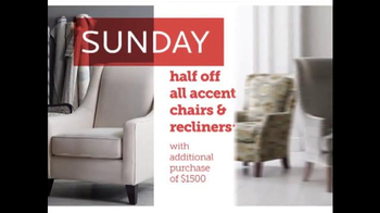 Bassett Half Off Weekend TV Spot, 'Two More Days: Beds and Seating' - Thumbnail 7