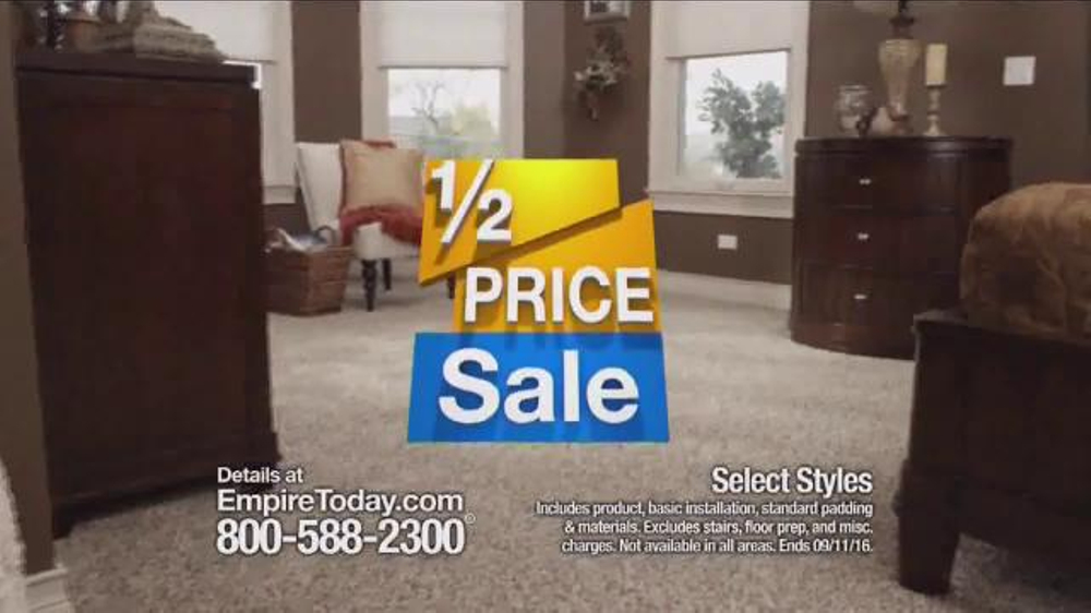 Empire Today Half Price Sale Tv Commercial What You Ve