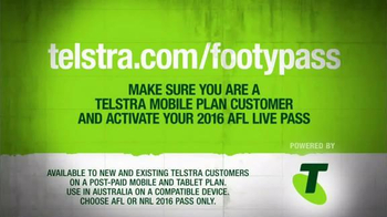 Arena Football League (AFL) TV Spot, 'Telstra Mobile: AFL Live Pass' - Thumbnail 6