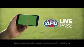 Arena Football League (AFL) TV Spot, 'Telstra Mobile: AFL Live Pass' - Thumbnail 4