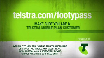 Arena Football League (AFL) TV Spot, 'Telstra Mobile: AFL Live Pass' - Thumbnail 5