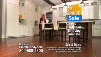 Empire Today Half Price Sale TV Spot, 'Flawless' - Thumbnail 4