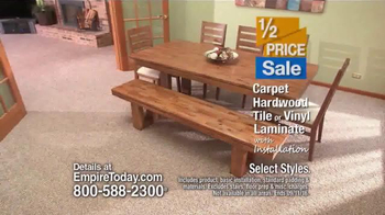 Empire Today Half Price Sale TV Spot, 'Flawless' - Thumbnail 5