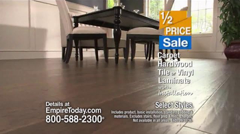 Empire Today Half Price Sale TV Spot, 'Flawless' - Thumbnail 6