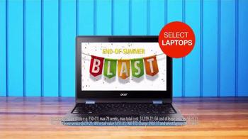 Rent-A-Center End-of-Summer Blast TV Spot, 'TVs and Laptops' - Thumbnail 4