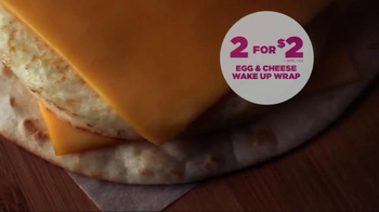 Dunkin' Donuts Egg & Cheese Wake-Up Wrap TV Spot, 'Keep on Saving' - Thumbnail 8