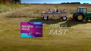 Allegra Gelcaps TV Spot, 'Nice Surprise' - Thumbnail 9