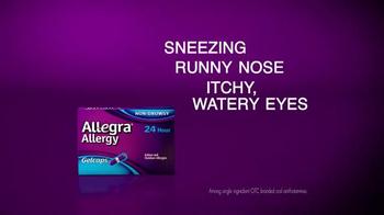 Allegra Gelcaps TV Spot, 'Nice Surprise' - Thumbnail 4