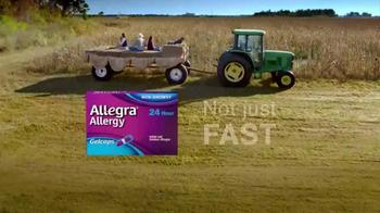 Allegra Gelcaps TV Spot, 'Nice Surprise' - Thumbnail 8
