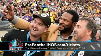 Pro Football Hall of Fame TV Spot, 'Ultimate Fantasy Football Experience' - 43 commercial airings