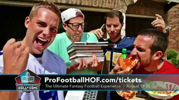Pro Football Hall of Fame TV Spot, 'Ultimate Fantasy Football Experience' - Thumbnail 1