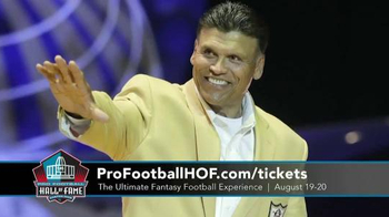 Pro Football Hall of Fame TV Spot, 'Ultimate Fantasy Football Experience' - Thumbnail 3