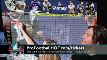Pro Football Hall of Fame TV Spot, 'Ultimate Fantasy Football Experience' - Thumbnail 4