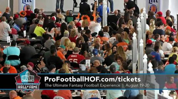 Pro Football Hall of Fame TV Spot, 'Ultimate Fantasy Football Experience' - Thumbnail 5