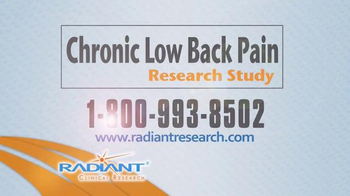 Radiant Clinical Research TV Spot, 'Chronic Low Back Pain Research Study' - Thumbnail 9