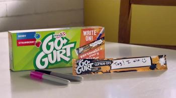 GoGurt Write On! Tubes TV Spot, 'Back to School' - Thumbnail 7