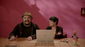 Microsoft Surface Book TV Spot, 'Jorge and Sandra Bring Art to Life' - Thumbnail 2