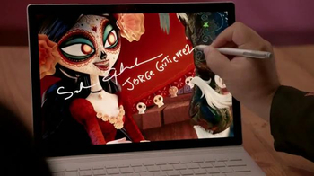 Microsoft Surface Book TV Spot, 'Jorge and Sandra Bring Art to Life'