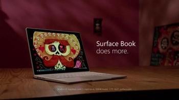 Microsoft Surface Book TV Spot, 'Jorge and Sandra Bring Art to Life' - Thumbnail 8