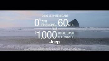 2016 Jeep Renegade TV Spot, 'The Vehicle of Summer' Song by Morgan Dorr - Thumbnail 6