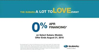 Subaru A Lot to Love Event TV Spot, 'Make a Dog's Day' - Thumbnail 10