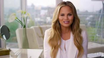 TRESemme Beauty-Full Volume TV Spot, 'Hair Flashbacks' Feat. Chrissy Teigen - Thumbnail 6