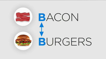 Carl's Jr. Bacon 3-Way Burger TV Spot, 'BBC America: Made for Each Other' - Thumbnail 2