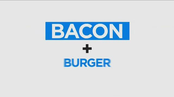 Carl's Jr. Bacon 3-Way Burger TV Spot, 'BBC America: Made for Each Other' - Thumbnail 6