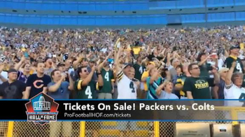 Pro Football Hall of Fame TV Spot, 'Packers vs. Colts' - Thumbnail 1