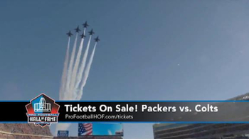 Pro Football Hall of Fame TV Spot, 'Packers vs. Colts' - Thumbnail 2