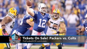 Pro Football Hall of Fame TV Spot, 'Packers vs. Colts' - Thumbnail 3