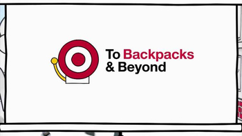 Target TV Spot, 'Back to School: How to Use a Backpack' Song by L2M - Thumbnail 1