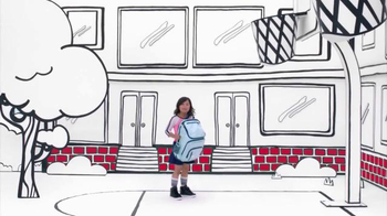 Target TV Spot, 'Back to School: How to Use a Backpack' Song by L2M - Thumbnail 2