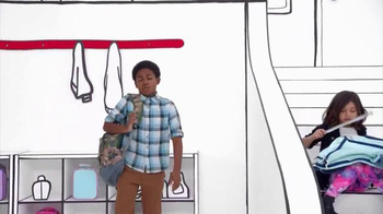 Target TV Spot, 'Back to School: How to Use a Backpack' Song by L2M - Thumbnail 7