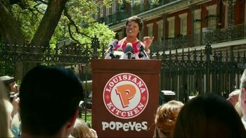 Popeyes Beer Can Rip'n Chick'n TV Spot, 'Press Conference' - 1434 commercial airings