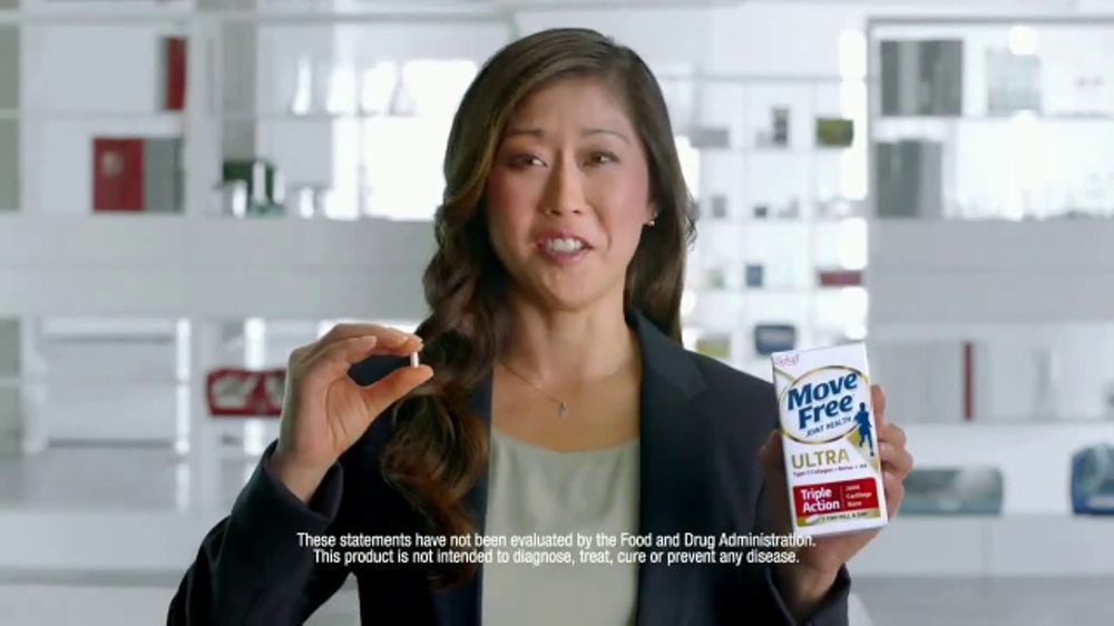 Move Free Ultra Triple Action TV Commercial, 'Rise Above' Feat. Kristi Yamaguchi