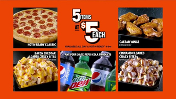 Little Caesars Pizza 5 for $5 TV Spot, \'Your Pick\'