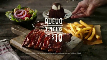 Chili's TV Spot, 'Tres platos' canción de The Doobie Brothers[Spanish] - 840 commercial airings