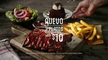 Chili's TV Spot, 'Tres platos' canción de The Doobie Brothers[Spanish] - 840 commercial airings