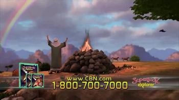 CBN Superbook: Explorer Vol. 6 TV Spot, 'Two Stories' - Thumbnail 4